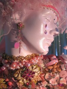 Heidi Marble's jeweled mannequin