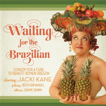 Jacki Kane: Waiting for the Brazilian show poster