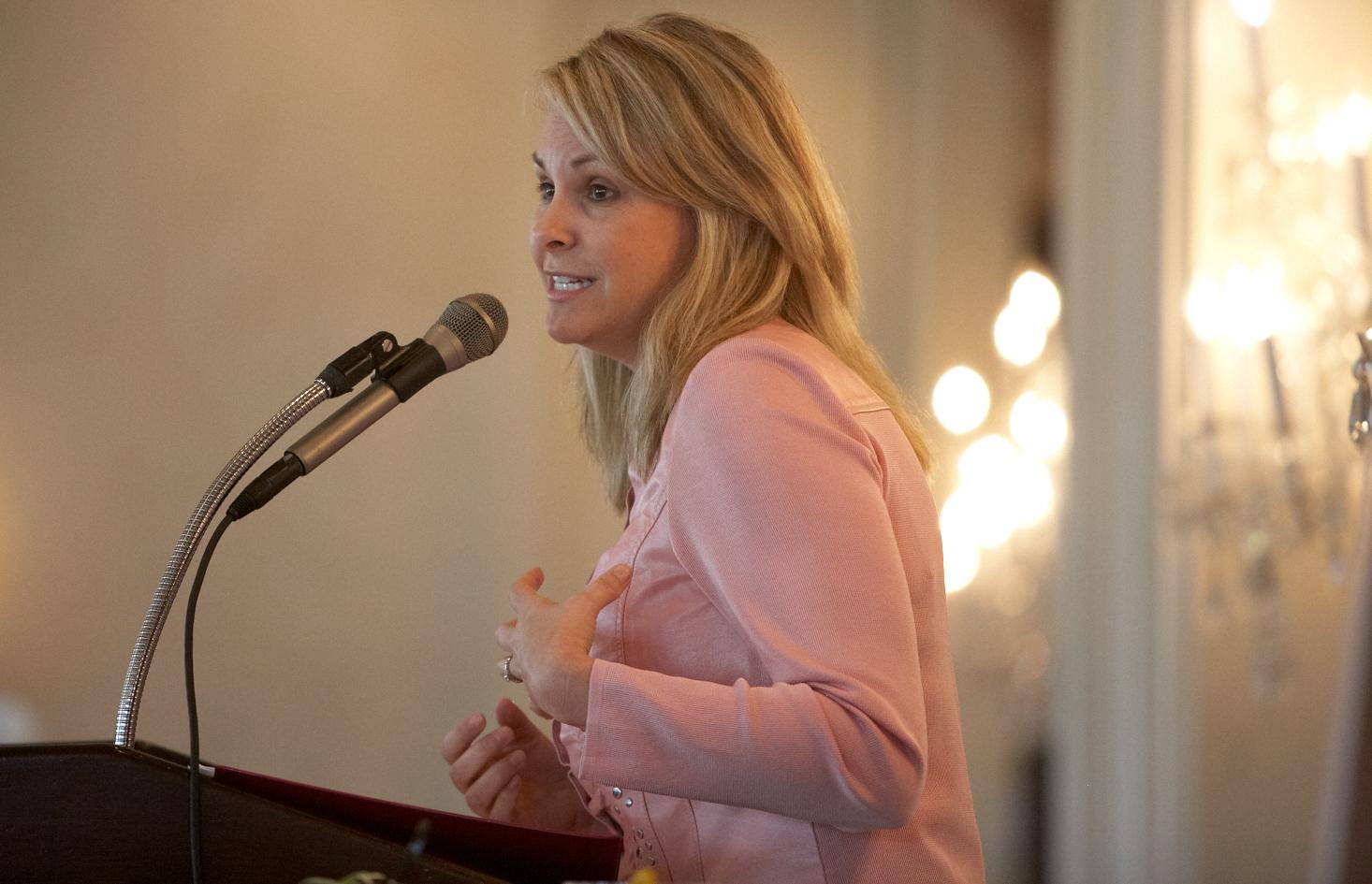 Kim Becking, breast cancer survivor, author