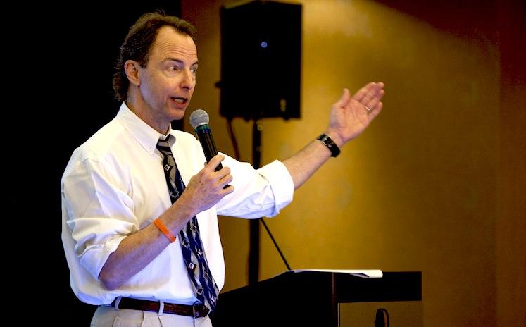 Frank King, speaker on mental and heart health