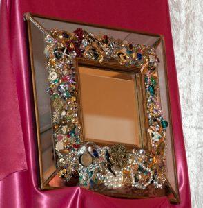 Heidi Marble - Pink Luncheon Mirror