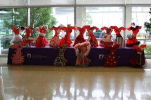 Red dresses for women's heart health